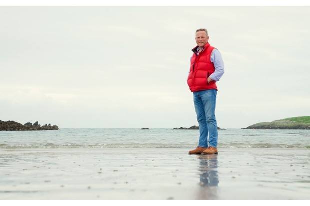 Jules Hudson on Anglesey