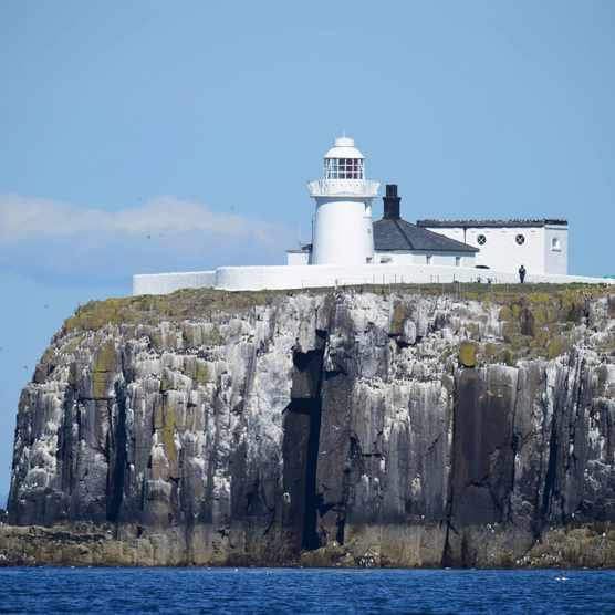 Farne island lighthouse