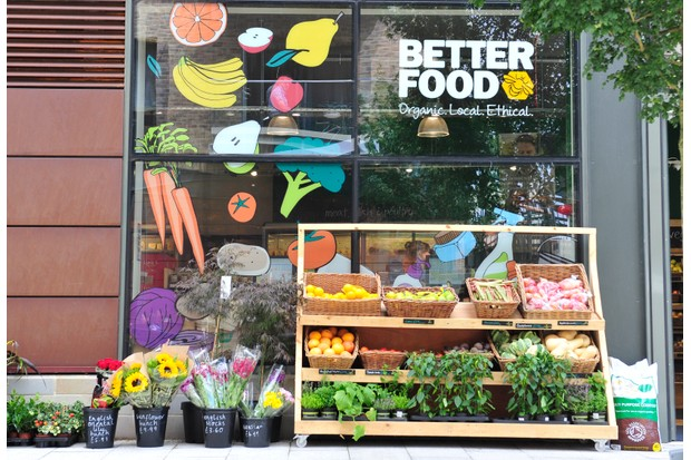 Better Food new store at Wapping Wharf, Bristol.  14/07/2016  Photo by Simon Galloway   Photo must carry Photographer byline; ©Simon Galloway 2016.  All Rights Reserved. NO SYNDICATION/NO RESALE/NO PRINT SALES/NO WEB USE WITHOUT NEGOTIATION/NO ADVERTISING USE. Simon Galloway asserts his Moral Rights as the author of this work in accordance with the Copyright Designs and Patents Act 1988.   Contact photographer: Simon Galloway 07810 638162 simongalloway@hotmail.com www.simongallowayphotography.co.uk