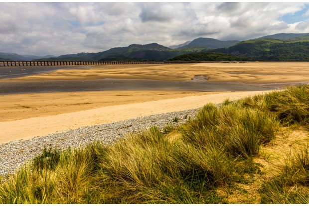 Barmouth Bridge, Wales