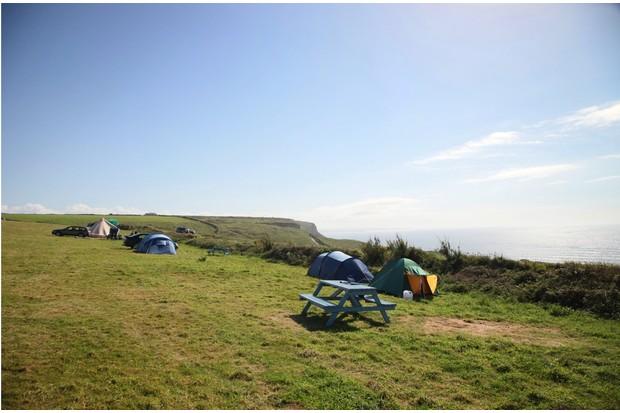 Bedruthan camping ©Daniel Start