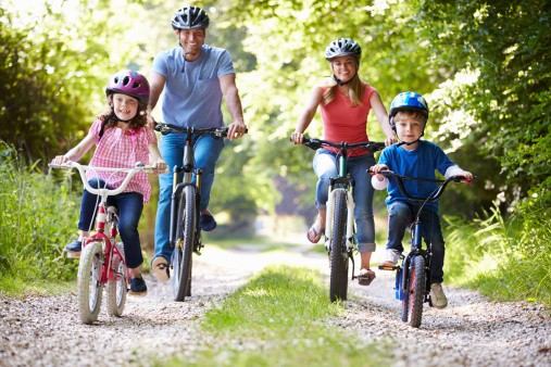 Image result for family cycling country side