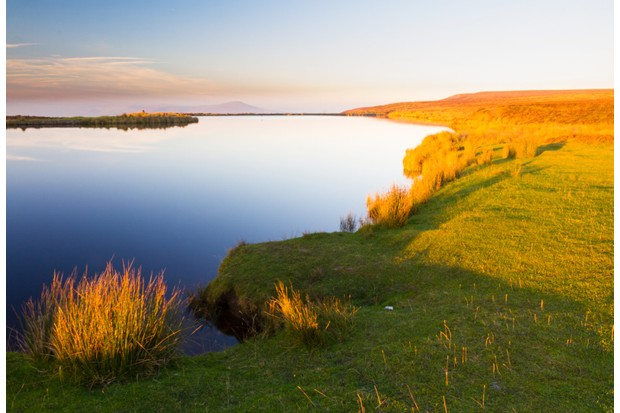 Keeper's Pond on the flanks of Blorenge in the Brecon Beacons