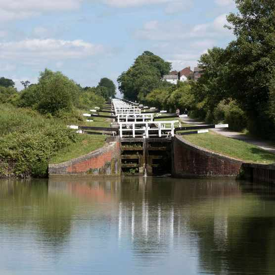 Caen Hill Lock Wiltshire