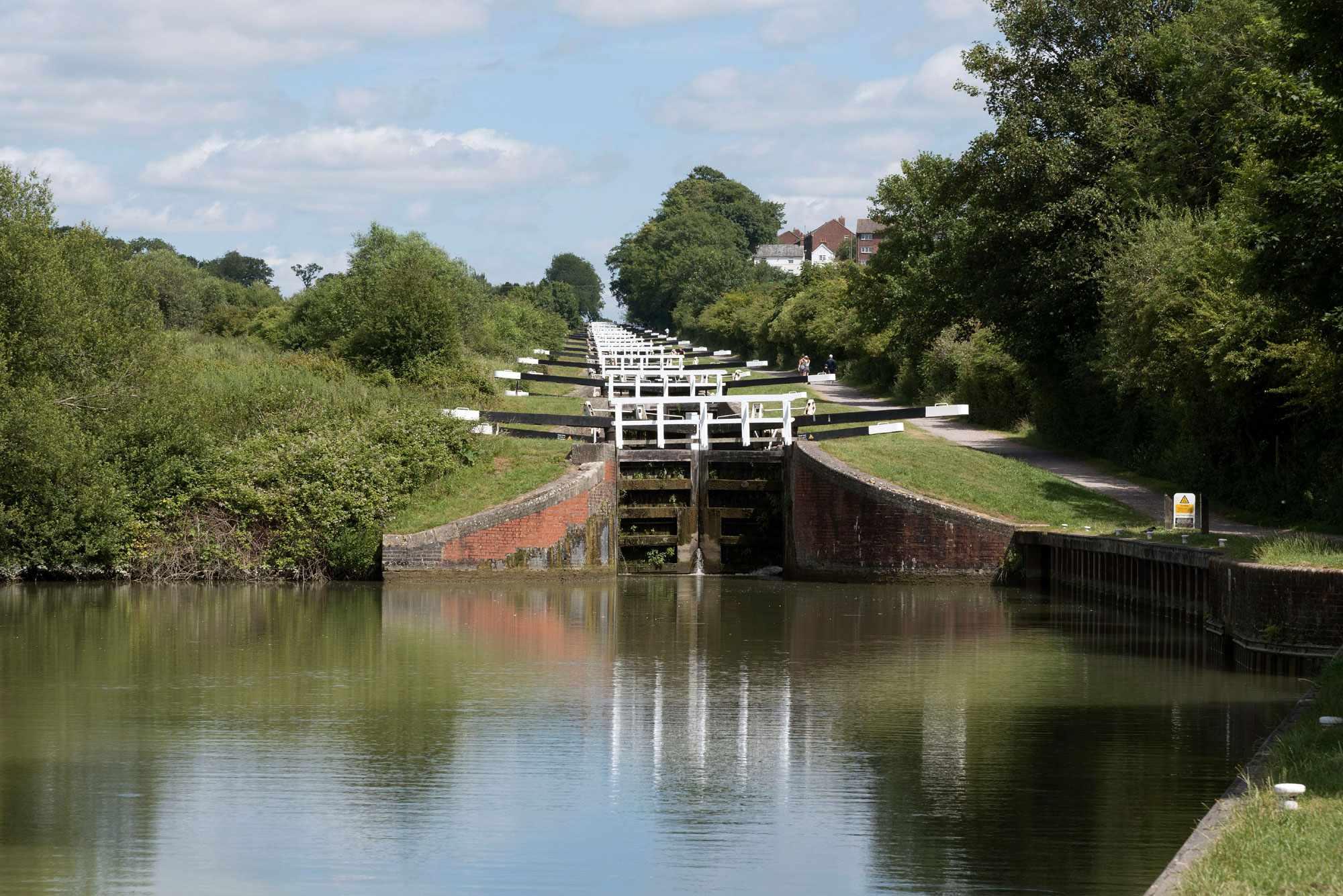 Caen Hill Lock Wiltshire