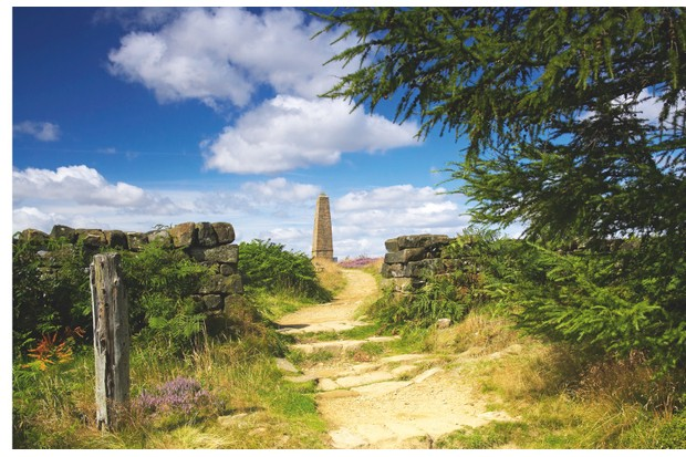 Captain Cook's Monument on Easby Moor honours the explorer who grew up on nearby Aireyholme Farm