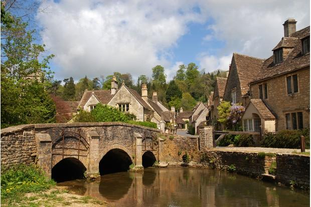 Castle Combe Cotswolds Wiltshire