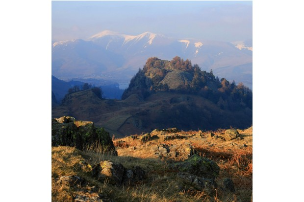 Rugged Castle Crag's charisma belies its short stature