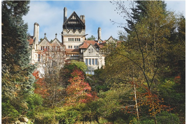 Cragside sits between the Northumberland National Park and the North Sea coastline