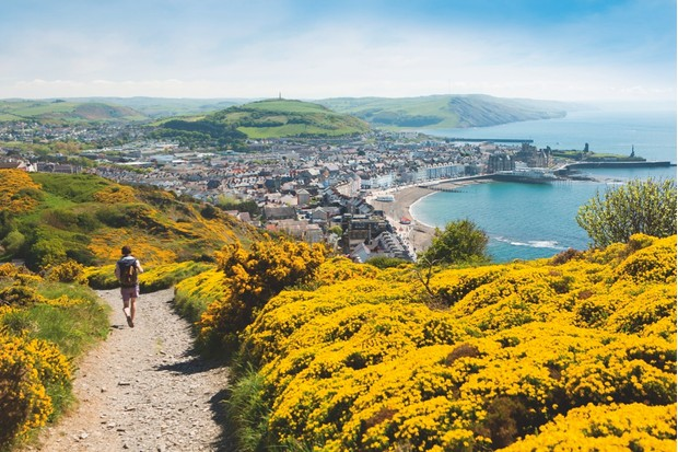 Despite its attractions, even in the peak summer months, Aberystwyth never feels crowded