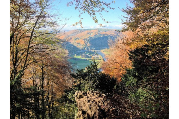 The view from the Devil's Pulpit