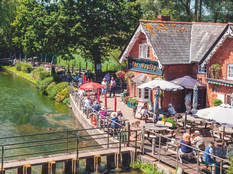 Best canal and riverside pubs in Britain