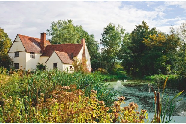 Willy Lott's House – the subject matter for Constable's The Hay Wain