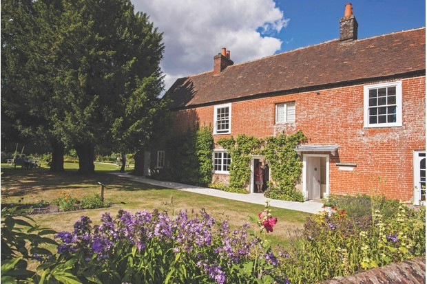 EC1JKM Jane Austen's House Museum, Chawton, Alton, Hampshire GU34 1SD . Jane Austen 's home from 1809 for the last 8 years of her life.