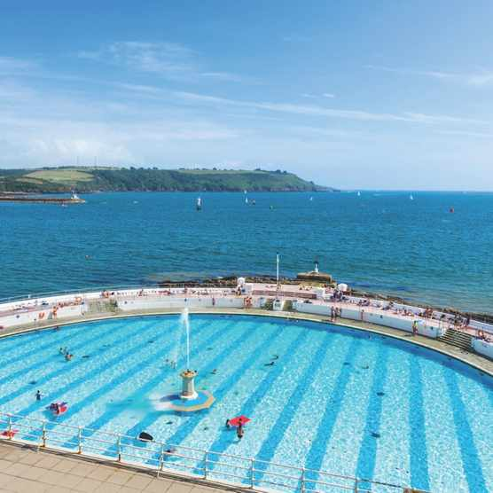 Tinside outdoor Lido