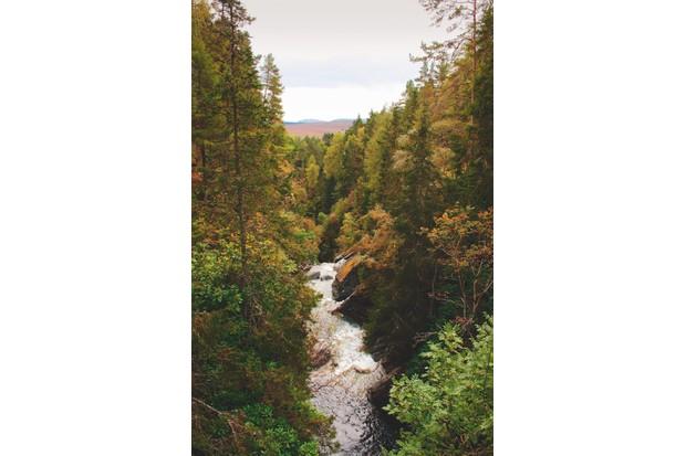 Falls of Bruar, Scotland