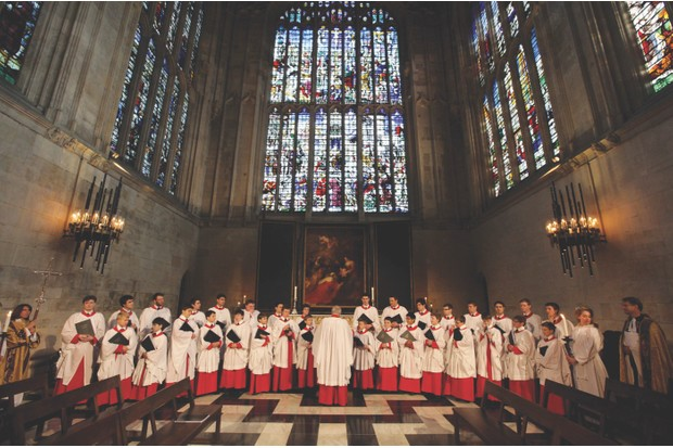 CAMBRIDGE, ENGLAND - DECEMBER 11:  The Choir of King's College Cambridge conduct a rehearsal of their Christmas Eve service of 'A Festival of Nine Lessons and Carols' in King's College Chapel on December 11, 2010 in Cambridge, England. The Choir was founded by King Henry VI in 1441 and is regarded as one of the world's finest choral groups. It comprises of the Conductor Stephen Cleobury, 16 choristers, who are educated on scholarships at King's College School, as well as 14 choral scholars and two organ scholars, who study a variety of subjects in the College. The choir's performance of 'A Festival of Nine Lessons and Carols', traditionally held on Christmas Eve in King's College Chapel, was introduced in 1918 and is broadcast to millions of people around the world.  (Photo by Oli Scarff/Getty Images)