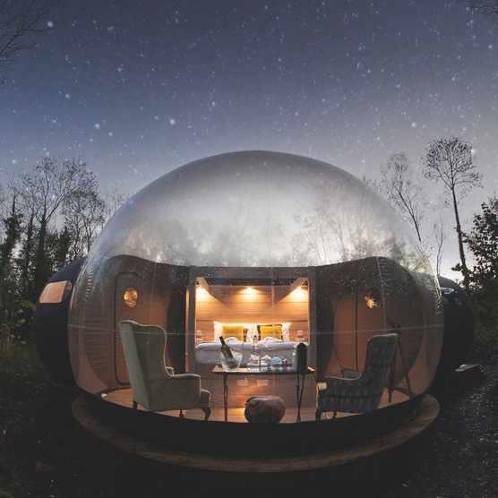 Finn Lough Bubble Dome, Fermanagh