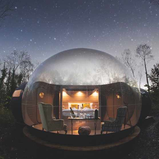 Finn Lough Bubble Dome, Fermanagh