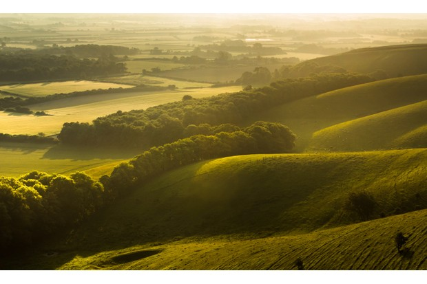 Sunrise from Firle Beacon