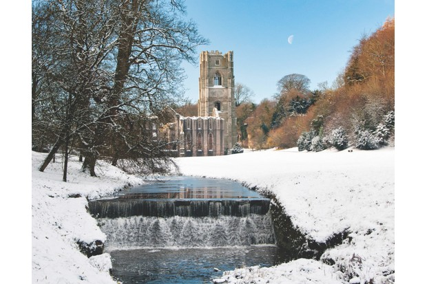 Fountains Abbey, Yorkshire UK
