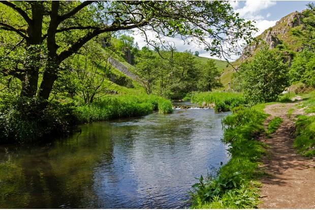 River Dove in Wolfscote Dale, Peak District