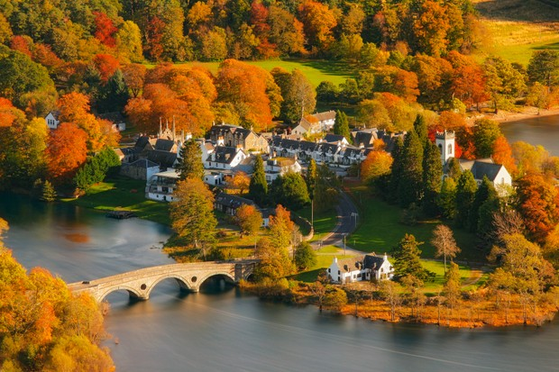 Kenmore in autumn, Perthshire, Scotland