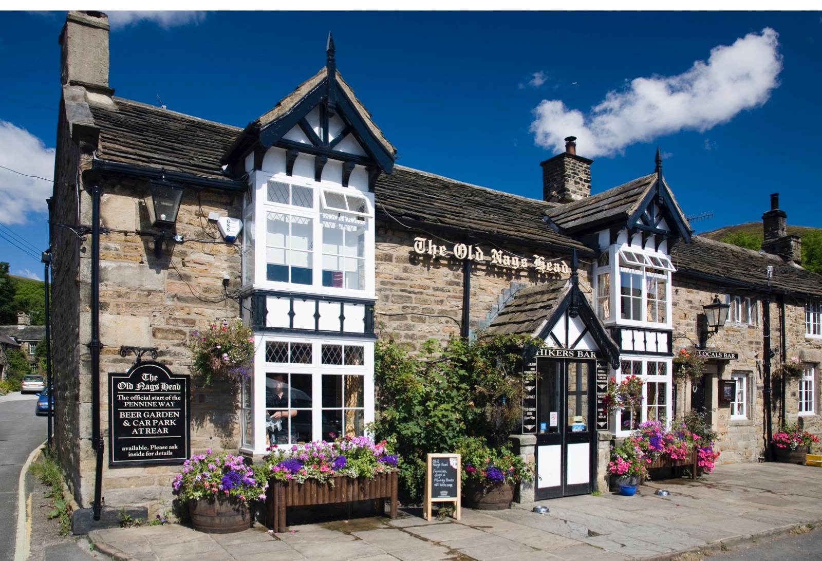 The Old Nags Head, Edale, Derbyshire