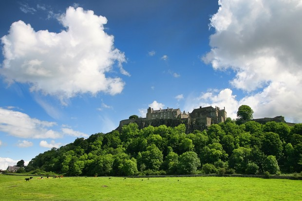 """""""Stirling Castle, is one of the largest and most important castles, both historically and architecturally, in Scotland. The castle sits atop Castle Hill, an intrusive crag, which forms part of the Stirling Sill geological formation. Its strategic location has made it an important fortification from the earliest times."""""""