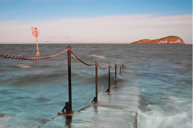 A view of the pier at North Berwick looking towards the island of Craigleith.Some Other Random Images Of Mine Shown Below -