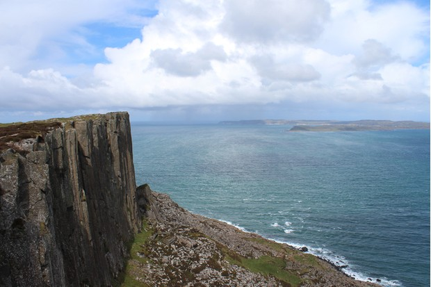 View from Fairhead with Rathlin Island in the background, Northern Ireland