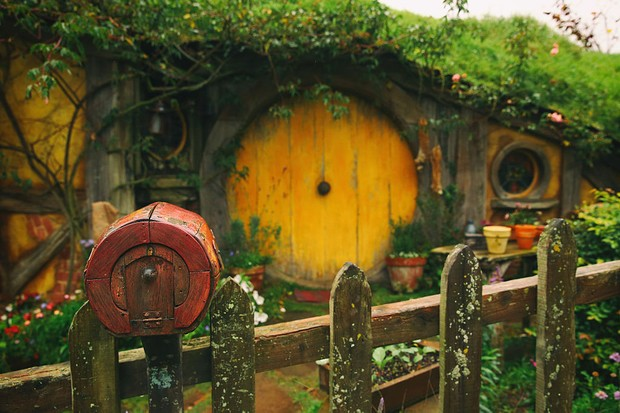 MATAMATA, NEW ZEALAND - JUNE 19:  (Editors note: A digital filter has been applied to this image) Sam's house is seen at the Hobbiton Movie Set where Lord of the Rings and The Hobbit trilogies were filmed, during the FIFA U-20 World Cup on June 19, 2015 in Matamata, New Zealand.  (Photo by Alex Livesey - FIFA/FIFA via Getty Images)