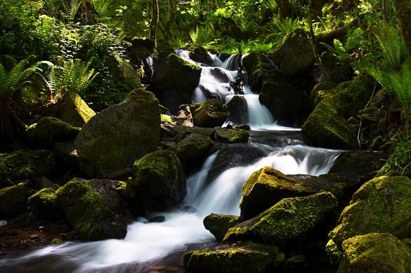 Water on the Horner River Exmoor