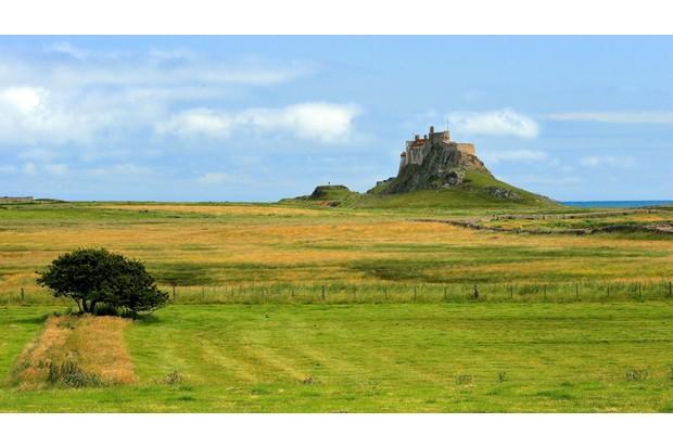 Lindisfarne Castle / Lindisfarne Castle / Holy Island, uk