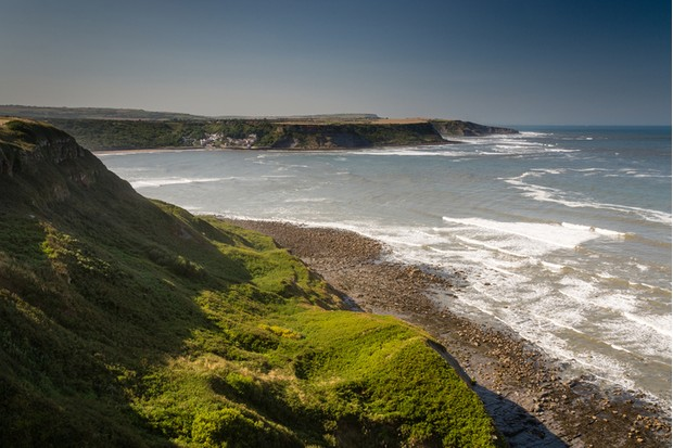 Runswick Bay is a pretty fishing village tucked away in the cliffs on the beautiful Heritage Coast of the North York Moors National Park