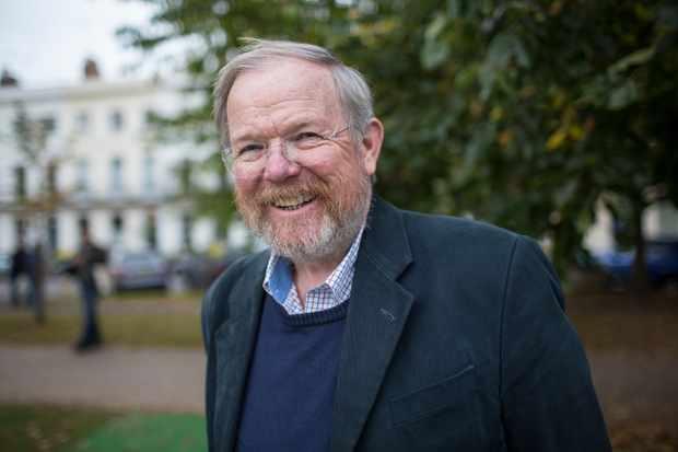CHELTENHAM, ENGLAND - OCTOBER 10:  Bill Bryson, travel writer, at the Cheltenham Literature Festival on October 10, 2015 in Cheltenham, England.  (Photo by David Levenson/Getty Images)