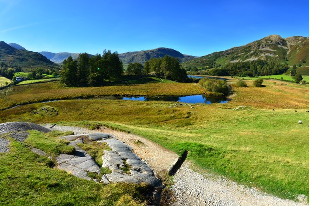 Taken on a walk around Little Langdale with its lovely tarn and fantastic views.
