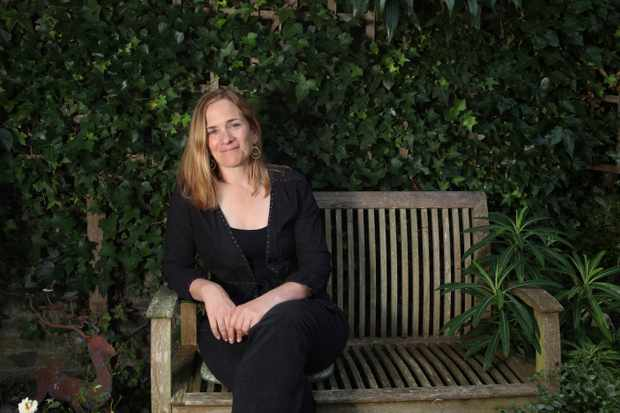 circa 2011: Tracy Chevalier FRSL is an American historical novelist. She has written seven novels. She is best known for her second novel, Girl with a Pearl Earring, which was made into a 2003 film, starring Scarlett Johansson and Colin Firth. Pictured at her home in North London. (Photo by Eamonn McCabe/Getty Images)