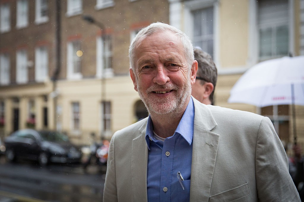LONDON, ENGLAND - JUNE 14:  Jeremy Corbyn MP, leader of the Labour Party, arrives at a Labour In for Britain event at the TUC Congress Hall on June 14, 2016 in London, England.  Labour In for Britain are campaigning for the United Kingdom to remain a member of the European Union in a referendum being held on June 23, 2016.  (Photo by Rob Stothard/Getty Images)