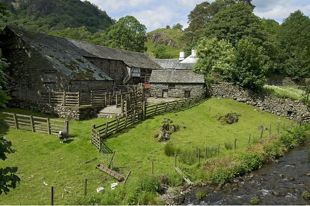 Yew Tree Farm which was once owned by Beatrix Potter. (Photo by: Loop Images/UIG via Getty Images)