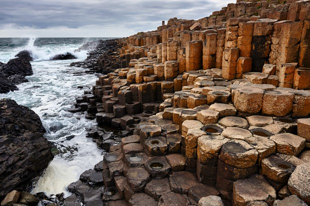 United Kingdom, Northern Ireland, Causeway Coastal Route, Antrim County, Giant's Causeway, UNESCO World Heritage Site, coast