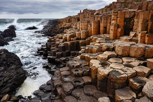 United Kingdom, Northern Ireland, Causeway Coastal Route, Antrim County, Giant's Causeway, UNESCO World Heritage Site, coast