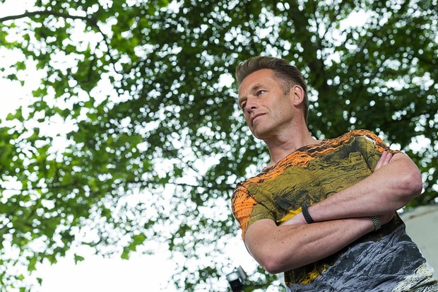 EDINBURGH, SCOTLAND - AUGUST 14:  English naturalist, nature photographer, television presenter and author Chris Packham attends a photocall at Edinburgh International Book Festival at Charlotte Square Gardens on August 14, 2016 in Edinburgh, Scotland.  (Photo by Roberto Ricciuti/Getty Images)