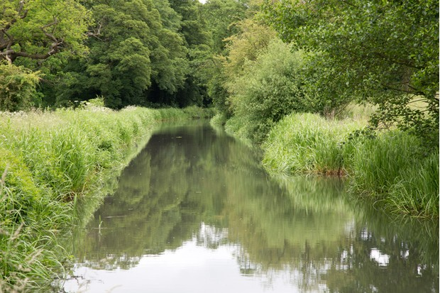 Cromford Canal, Peak District, Derbyshire, England, UK