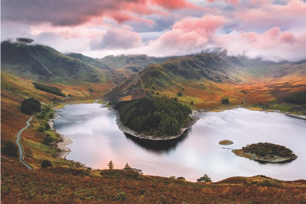 Haweswater Reservoir, Penrith, Lake District, Cumbria, England