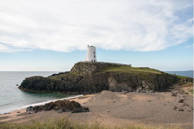 Ynys Llanddwyn Island in Anglesey, North Wales