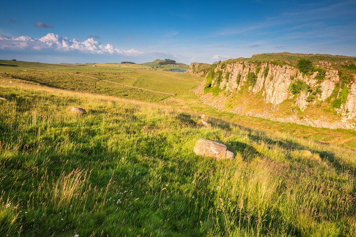 Steel Rigg and Peel Crags