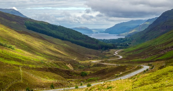Britain's top 10 country roads
