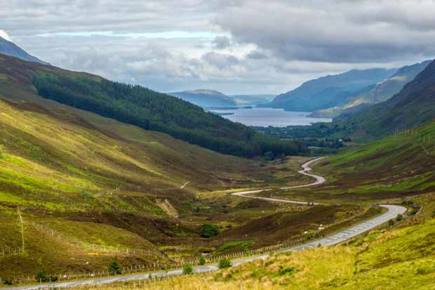Glen Docherty, Scotland