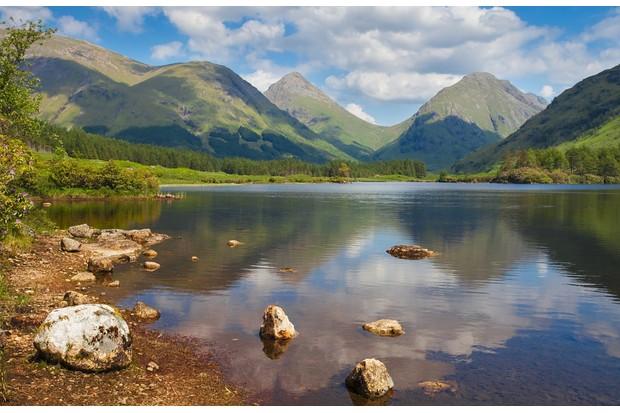 Glencoe Lochan. Scottish Highlands